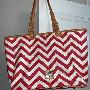 Dooney and Bourke Chevron Tote